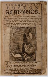 Cover of Bickerstaff's Boston Almanac
